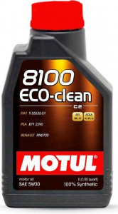 Моторное масло Motul 8100 Eco-Clean 5w30 1 литр