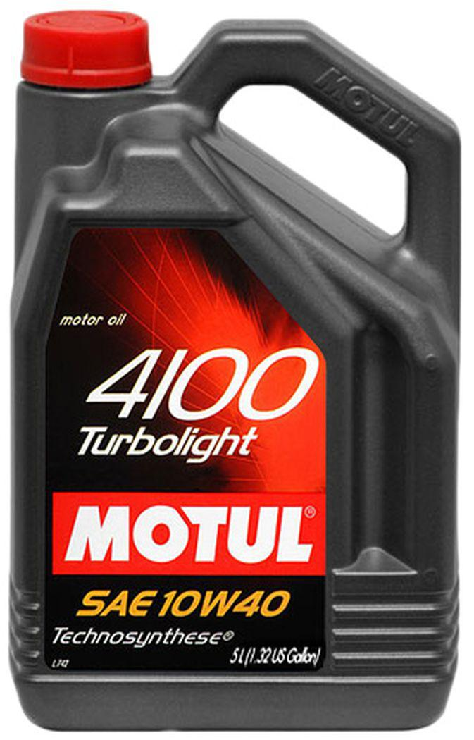 MOTUL 4100 Turbolight 10W-40 1-5литров
