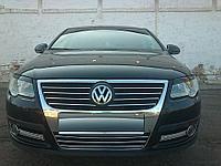 Реснички на фары Volkswagen Passat B6