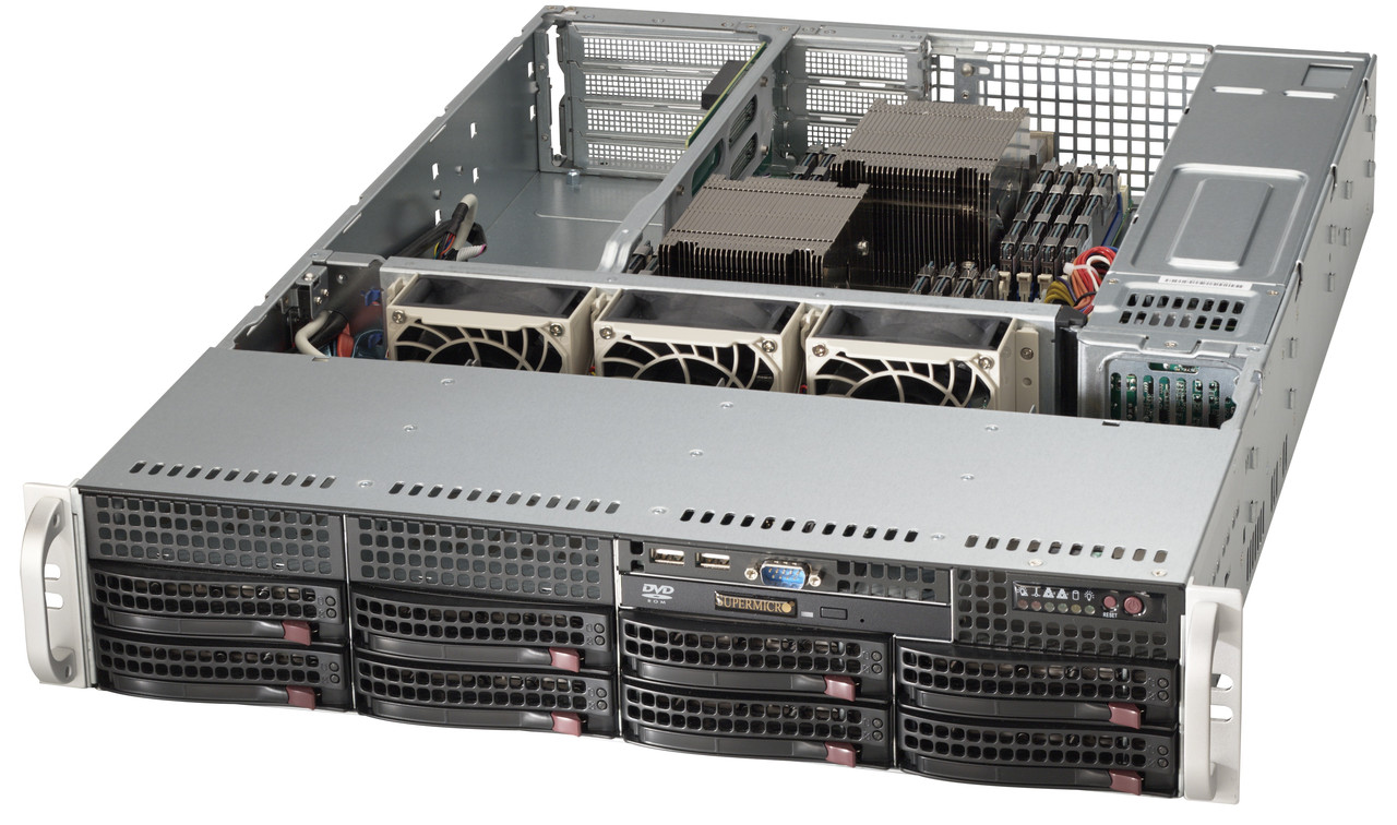 SuperServer 2027R-72RFTP+ Rack