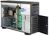 SuperMicro 4U/Tower (сборный) CSE-743T-665B/MBD-X10SAE 1x4С E3-1225v3/8Gb/8x5Tb SATA III Ent. 7.2k/MegaRaid LS