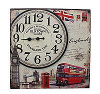"""Часы настенные, """"Old town"""", 39*39 см"""