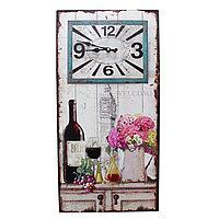 "Часы настенные, ""Wine"", 60*30 см"