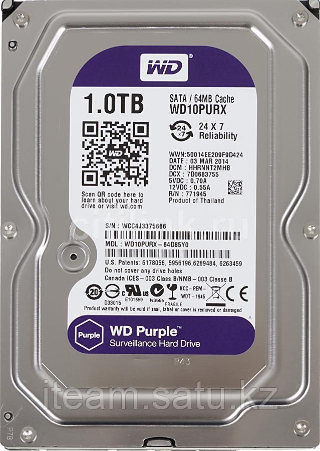 Жесткий диск HDD WD1003FZEX 1Tb