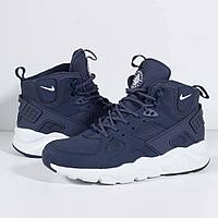 Кроссовки Nike Air Huarache City Mid Lea Blue White