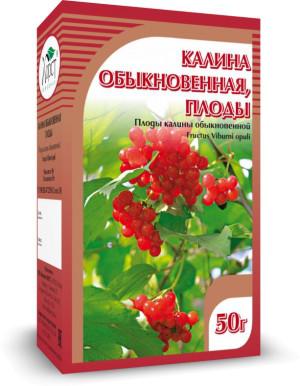 Калина, плоды, 50 г