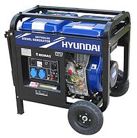 Дизельный генератор в Атырау 5 квт HYUNDAI DHY7000LEK