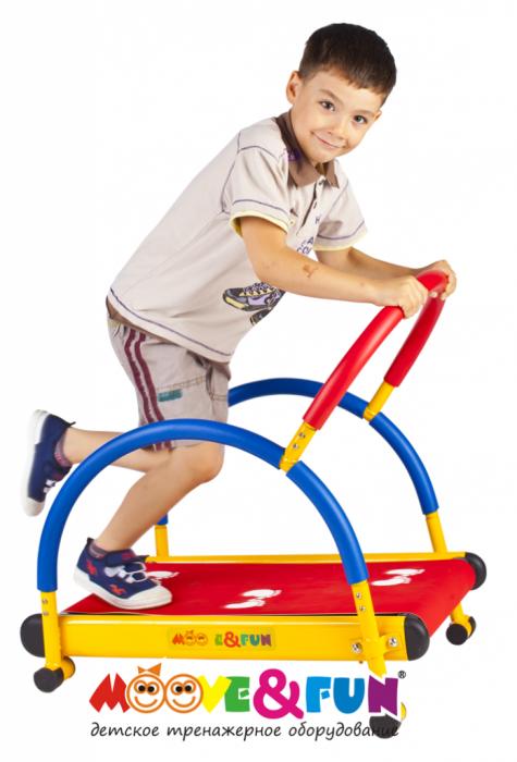 """Тренажер детский механический """"Беговая дорожка"""" с компьютером"""
