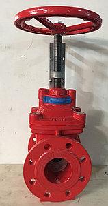Задвижка Ду80 для систем пожаротушения  без концевого выключателя