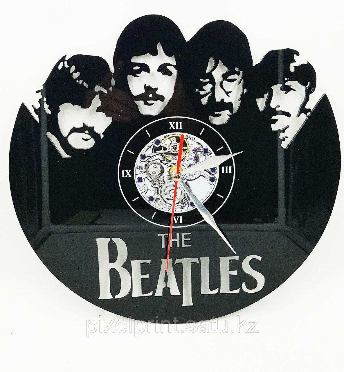Настенные часы с фото или рисунком на заказ