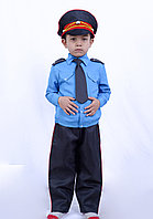 Костюм генерал-лейтенанта полиции детский (синий)