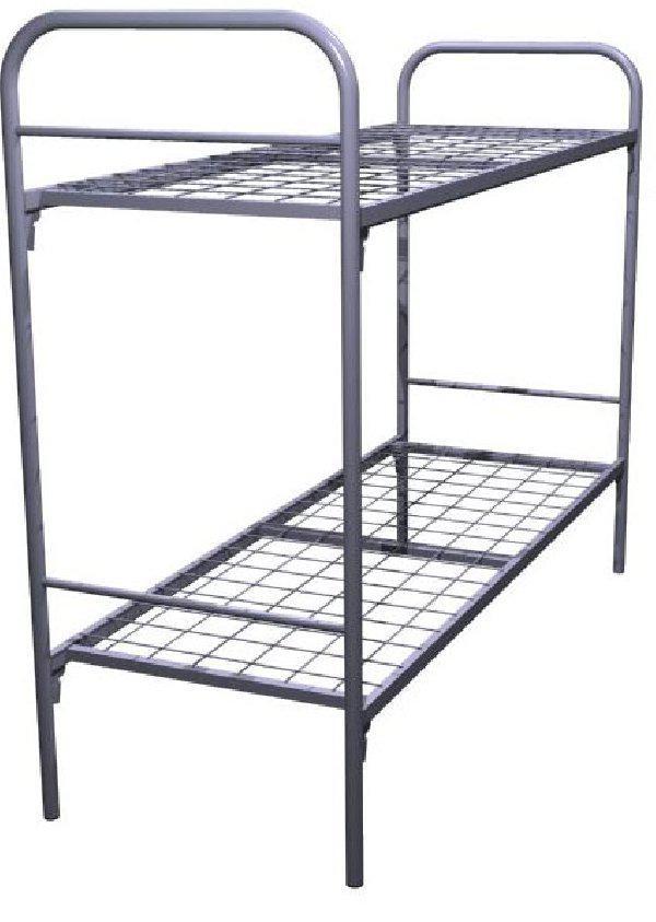 Кровать металлическая двухъярусная Эконом