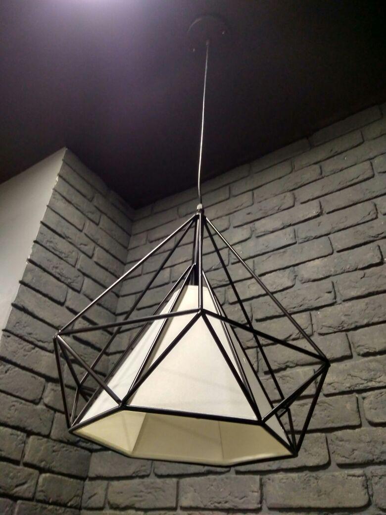Одноламповый светильник в индустриальном стиле ЛОФТ