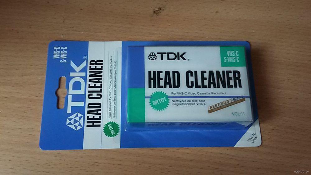 VHS-C чистящая кассета TDK VCL-11