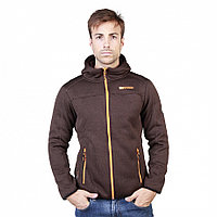 Толстовка на молнии Geographical Norway Trombone man darkbrown