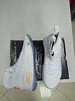 Баскетбольные кроссовки Under Armour Curry four IV ( 4 ) from Stephen Curry white, фото 2