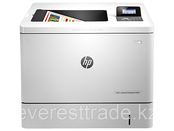 Принтер HP Color LaserJet Enterprise M553n (B5L24A) A4, 38 ppm 100 + 550 pages, USB + Ethernet, фото 2