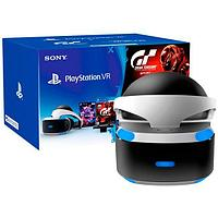 PS4 Шлем PlayStation VR + Gran Turismo Sport + VR Worlds + Camera V2 991113