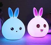 Ночник «Кролик» из силикона, фото 1