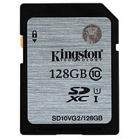 Карта памяти Kingston SD10VG2/128GB Class 10 128GB