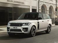 Обвес SVO на Range Rover Vogue