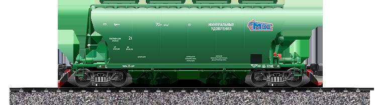 ВАГОН-ХОППЕР  Модель 19-9774