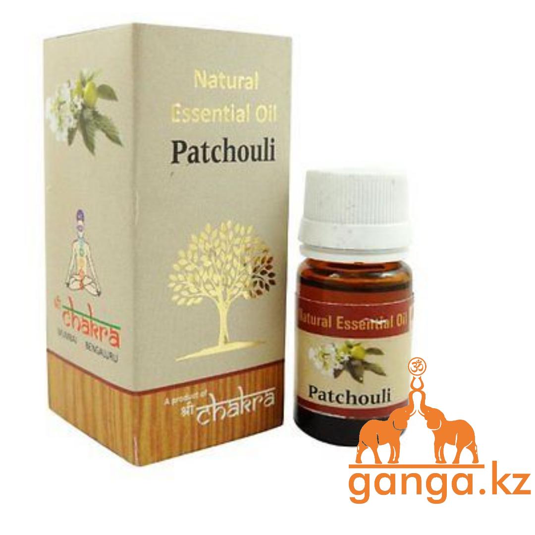 Натуральное эфирное масло  Патчули (Patchouli CHAKRA), 10 мл