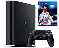 PlayStation 4 SLIM 500GB + FIFA18