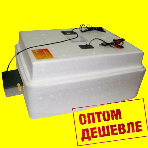 Бытовой инкубатор «Несушка» на 77 яйц, автоматический переворот, цифровой терморегулятор, 12В - оптом