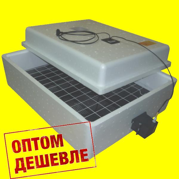 Бытовой инкубатор «Несушка» на 104 яйца, автоматический переворот, цифровой терморегулятор, 12В