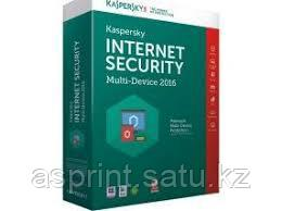 Антивирусная программа Kaspersky Lab Internet Security 2016 Base Retail Pack (Комплексная защита все - Aziya Service в Алматы