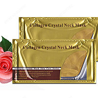 Коллагеновая маска для шеи Crystal Collagen Neck Mask