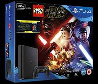 PlayStation 4 SLIM 500GB Игра Star Wars
