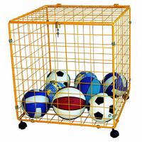 Корзина для мячей 100х80х80см металл К225