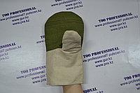 Рукавицы хлопчатобумажные с брезентовой накладкой универсальные рабочие