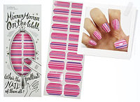THE FACE SHOP Наклейки для ногтей декоративные LOVELY MEEX CHARMING STICKER NAILS 06 MARSEILLE PINK