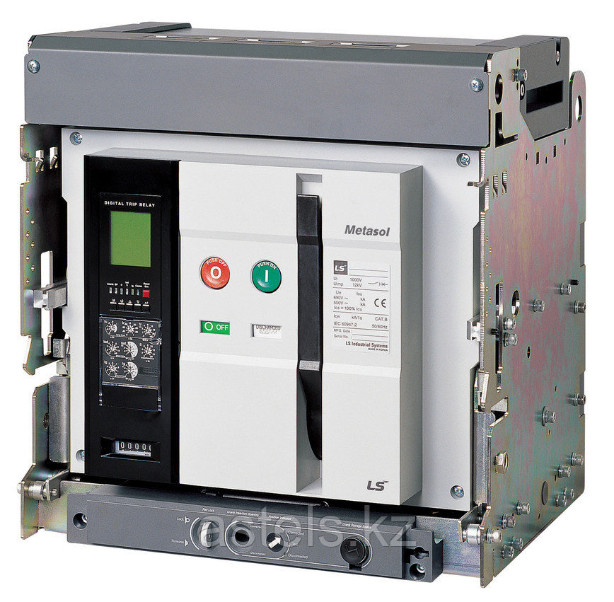 Воздушный выключатель Metasol 1600А выкатной