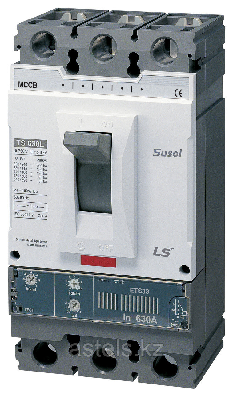 Автоматический выключатель TS630N FMU630 500A 3P EXP
