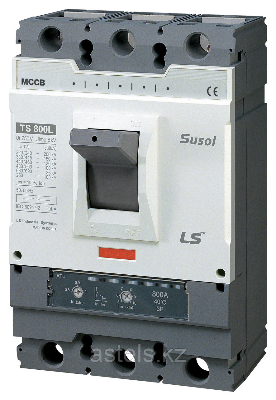 Автоматический выключатель TS800N FTU800 800A 3P EXP