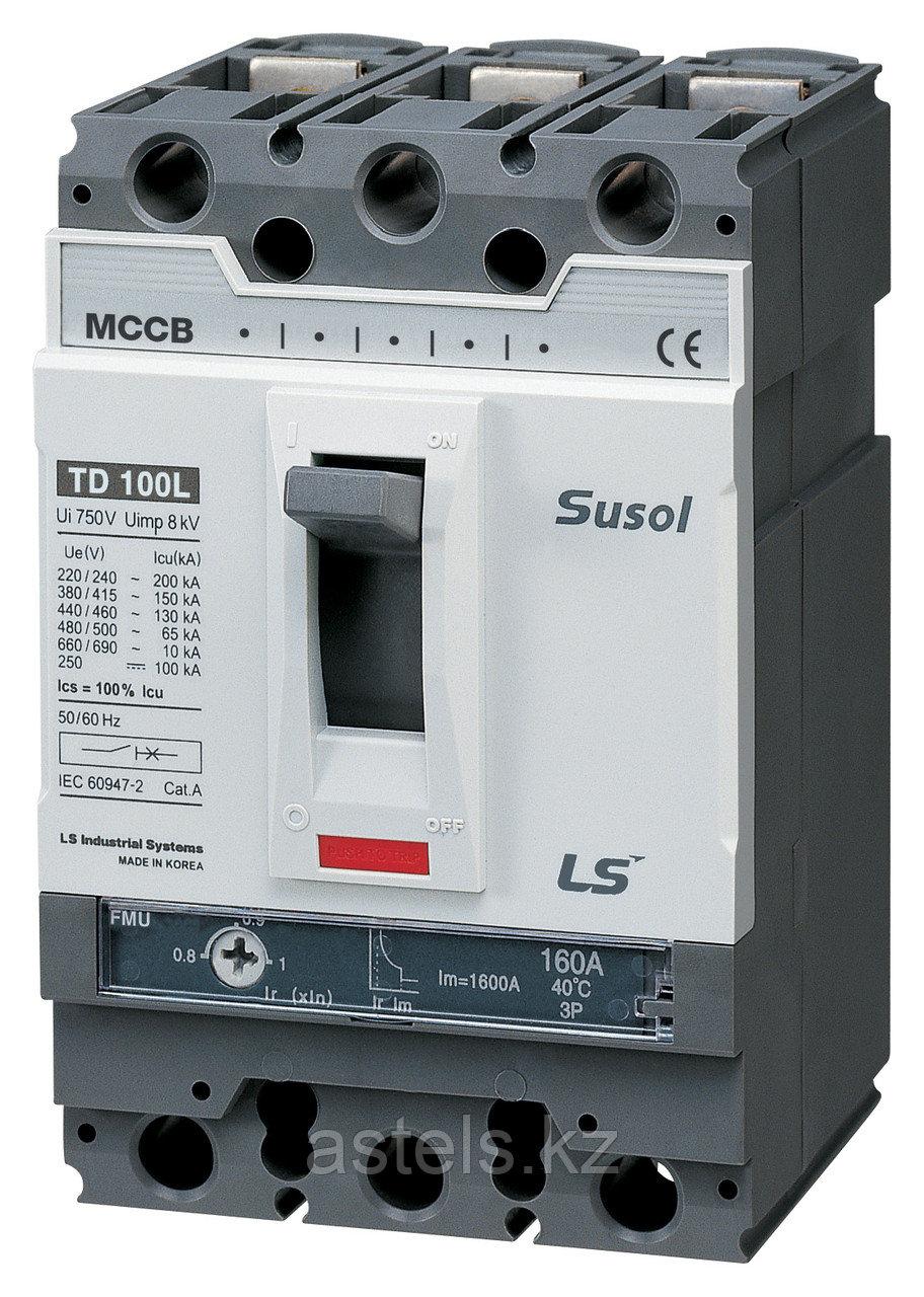 Автоматический выключатель TD100N FMU100 63A 3P EXP