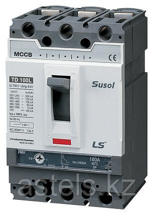 Автоматический выключатель TD160N FMU160 125A 3P EXP, фото 2