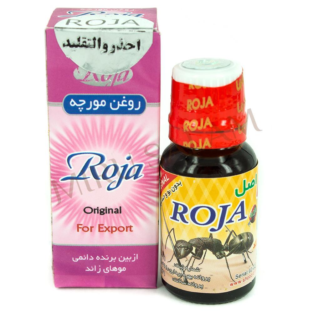 Муравьиное масло для удаления волос Roja