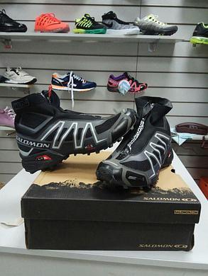 Высокие кроссовки Salomon Speedcross I (1)  черные, фото 2