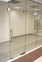 Стеклянные перегородки  для офиса стекло 10мм