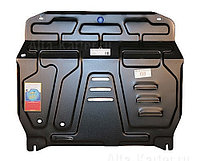 Защита картера двигателя и кпп на Mitsubishi Galant/Митсубиши Галант 2006-