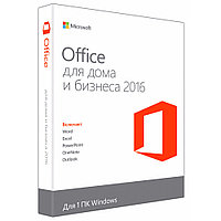 MS Office Home and Business 2016 32/64 RU Kazakhstan Only DVD P2