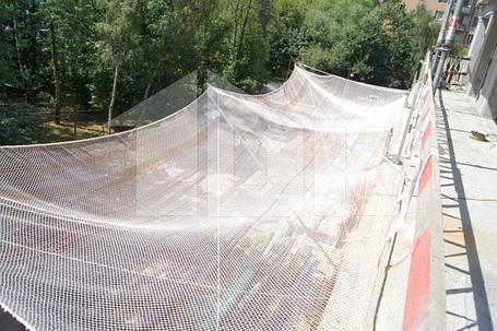 Защитно-улавливающая сетка 3,5 х 12 метр, фото 2