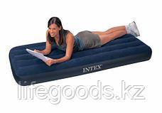 Односпальный надувной матрас 76х191х22 см, Intex 68950, фото 3