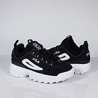 Кроссовки Fila Disruptor Black White