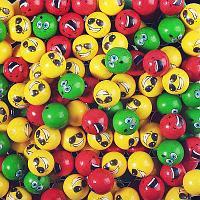 """Жев. резинка 25 мм """"Весёлая семейка (с начинкой)"""" 180 шт/уп (Zed Candy)"""